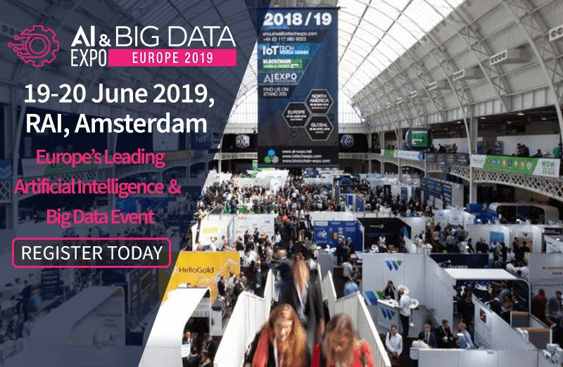 Zeenea's data catalog is at the AI & Big Data Expo Europe 2019!