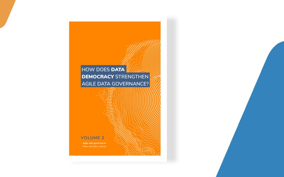 How does data democracy strengthen agile data governance?