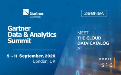 CANCELLED – Zeenea is a sponsor at the Gartner Data & Analytics Summit 2020!
